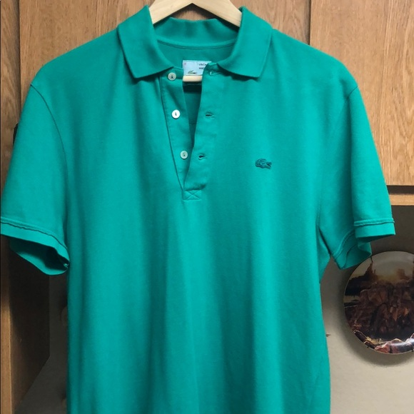 Lacoste Other - Lacoste Vintage Washed Polo 👕